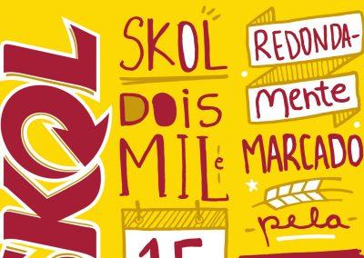 Calendário Skol